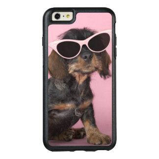 Dachshund Puppy Wearing Sunglasses OtterBox iPhone 6/6s Plus Case