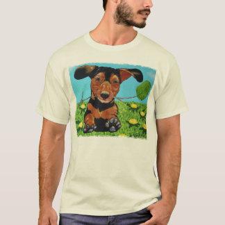 Dachshund Running to You T Shirt