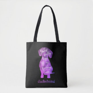 Dachshund - Short Stubby Legs and a Long Body Tote Bag