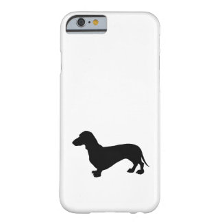 Dachshund Silhouette Barely There iPhone 6 Case
