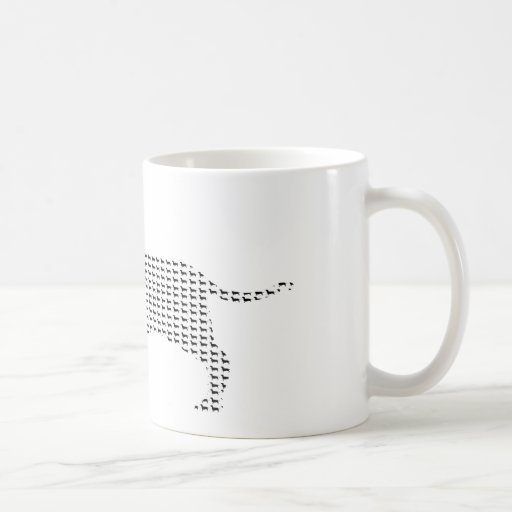Dachshund Silhouette From Many Mug