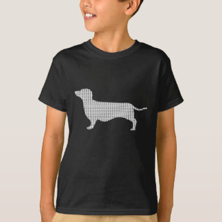 Dachshund Silhouette From Many T-Shirt