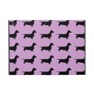 Dachshund Silhouette Pattern on any color Case For iPad Mini