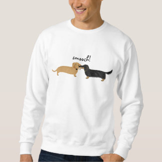 Dachshund Smooch Sweatshirt