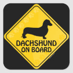 Dachshund [smooth] Xing Stickers