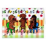 Dachshund String Trio Birthday