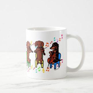 Dachshund String Trio Coffee Mug