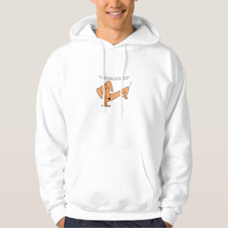 Dachshund Stupid Dog Tricks...for Poodles! Hoodie