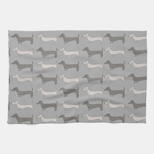 Dachshund Tea Towel