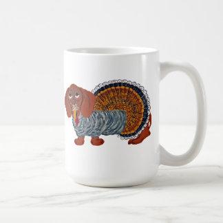 Dachshund Thanksgiving Turkey Coffee Mug