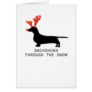 Dachshund Christmas Cards & Invitations | Zazzle.co.uk