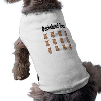 Dachshund Toes Doggie Shirt
