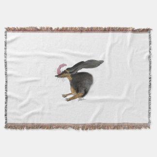 dachshund, tony fernandes throw blanket