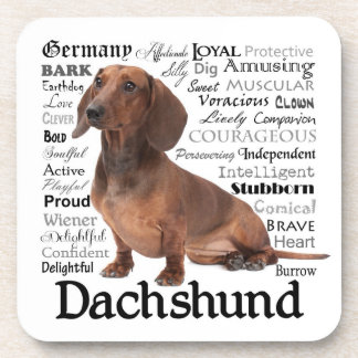 Dachshund Traits Coasters