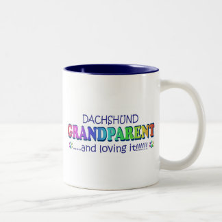 DACHSHUND Two-Tone COFFEE MUG
