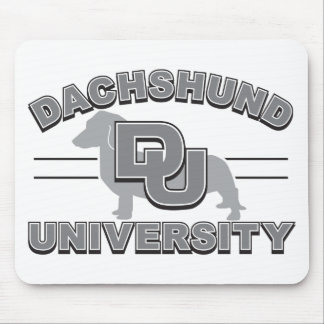 Dachshund University Mouse Pad