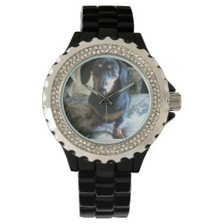 dachshund watch, or add your own picture! wrist watches