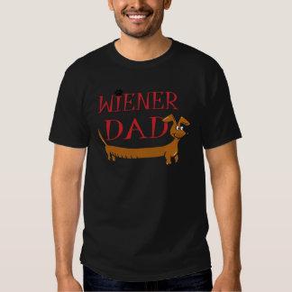 Dachshund Weiner Dad Tee Shirts