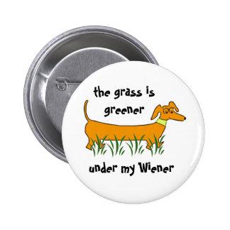 Dachshund Wiener 6 Cm Round Badge