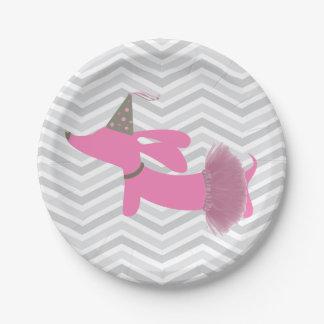 Dachshund Wiener Dog Party Plates