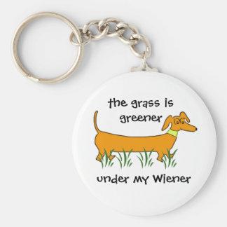Dachshund Wiener Key Ring