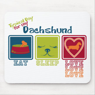 Dachshund [Wire-haired] Mouse Mat
