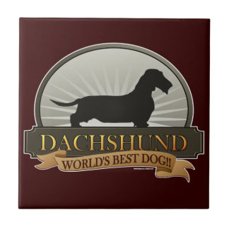 Dachshund [Wire-haired] Tile