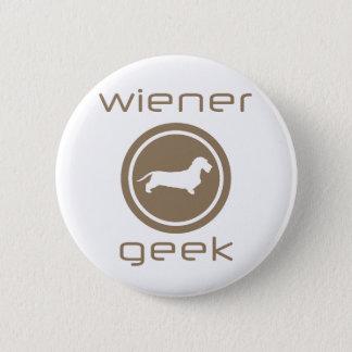 Dachshund Wirehaired 6 Cm Round Badge