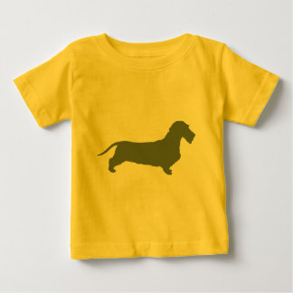 Dachshund Wirehaired Baby T-Shirt