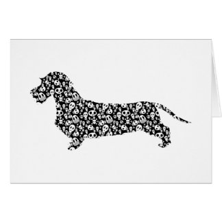 Dachshund Wirehaired Greeting Card