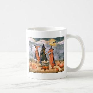 Dachshund Witches Basic White Mug