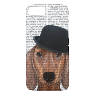 Dachshund with Black Bowler Hat iPhone 8/7 Case