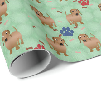 Dachshund Wrapping Paper