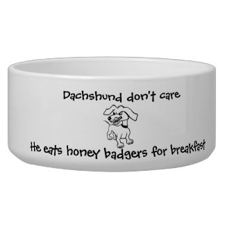 Dachshunds Eat Honey Badgers