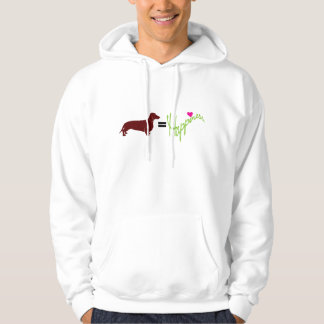 Dachshunds Equal Happiness Hoodie