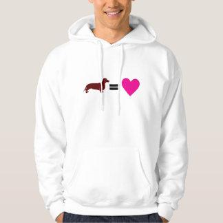 Dachshunds Equal Love Hoodies