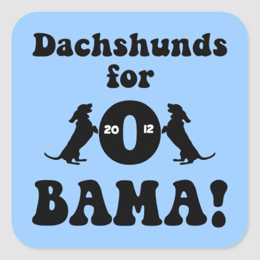 dachshunds for Obama