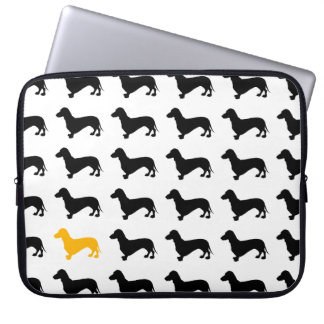 dachshunds laptop sleeve