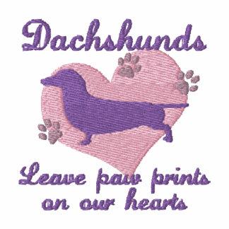 Dachshunds Leave Paw Prints Women's Hoody