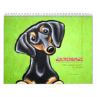 Dachshunds Off-Leash Art™ Vol 1 Calendar