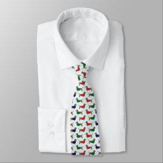 dachshunds Pattern Tie