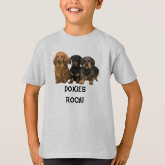 Dachshunds Rock Kids T-Shirt