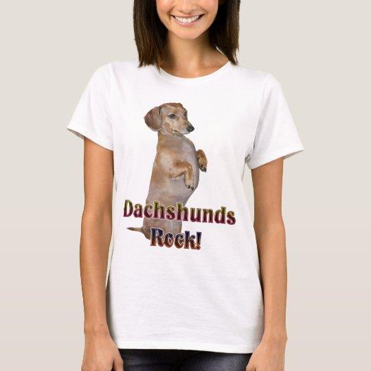 Dachshunds Rock Lilly T-Shirt