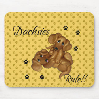 Dachshunds Rule!!! Mouse pad