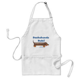 Dachshunds Rule Standard Apron