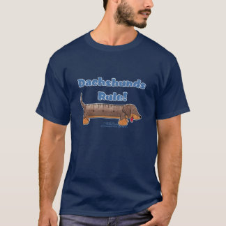 Dachshunds Rule T-Shirt