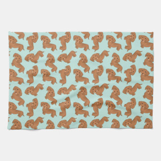 Dachshunds! Towel