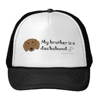 DachshundTanBrother Cap