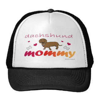 DachshundTanMommy-more breeds available Mesh Hat