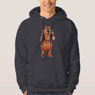 Dachsund Red Doxie Hoodie